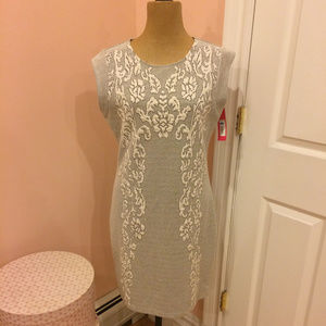 NWT Xhilaration Dress in Black and Cream